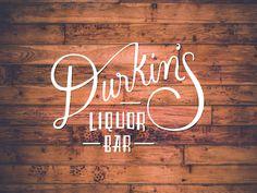 Durkin's by Karli Ingersoll #lettering #branding #identity #vintage #hand #typography
