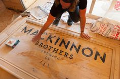 MacKinnon Brothers Brewing Co. #brewery #canada #beer #branding #craft #signage