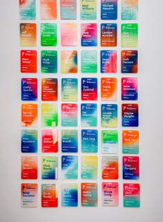 IDEO Perspectives Name Badges