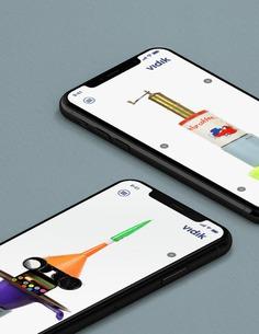 VIDIK art iphone responsive
