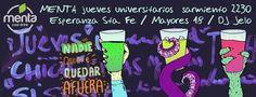 Poster by menta Bar.