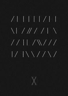 Saxon Typeface     sam chirnside