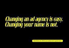 I Believe in Advertising | ONLY SELECTED ADVERTISING | Advertising Blog & Community » Albert Dali: Good name #advertising