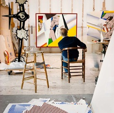 Roy-Lichtenstein-Studio-Yellowtrace-69.jpg (1500×1488)