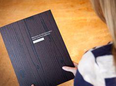Bellevue Towers Toolkit #debossed #leave #wood #brochure #behind #folder