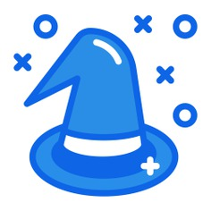 See more icon inspiration related to hat, witch, halloween, costume party, witch hat, birthday and party, kid and baby, carnival, costume, fashion, and party on Flaticon.