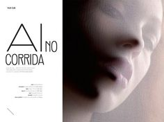 Ai No Corrida | Volt Café | by Volt Magazine #beauty #design #graphic #volt #photography #art #fashion #layout #magazine #typography