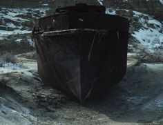 Deserted Photography – Fubiz™ #place #boat #deserted
