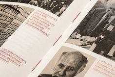 Herausgefordert. Die Geschichte der Basler Zeitung on Behance #design #editorial