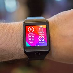 Samsung Gear 2 Smartwatch #tech #flow #gadget #gift #ideas #cool
