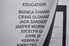 Bracket Vol. 03: Education   Swiss Legacy #clean #print #magazine #typography
