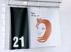 Felt - bitique #branding #calendar #illustration #felt #hazell #kate