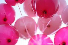 Sara Lindholm #pink #balloons