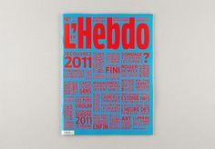 Hebdo cover (New) : DEMIAN CONRAD DESIGN