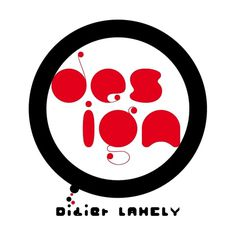 identity on the Behance Network #circle #red #design #black #logo #didierlahely