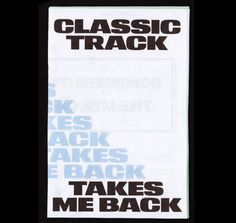 Classic Track Takes Me Back