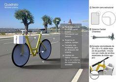 Quadrato by Luis Carlos Bernal at Coroflot #bernal #luis #bicycle #public #carlos #design #system #bike #quadrato