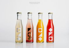 Seafarers & Ostro Restaurants Bar — The Dieline #packaging #bottle