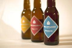 Humlehagen #brewery #beer #norway #packaging #label #hops