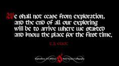 Exploration T.S. Eliot