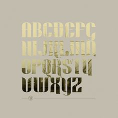 Dockyard Typeface on Typography Served #ship #mast #typeface #typography