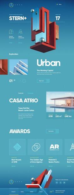 Arca Bureau / Web site design