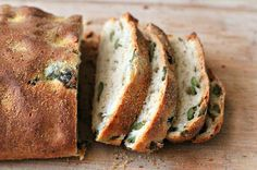 Milk and Honey: Olive and Thyme Bread #food