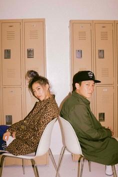 Edison Chen + Elle Hu