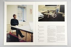 –Everyday Magazine : Mikael Fløysand #publication #grid #spread #layout #magazine