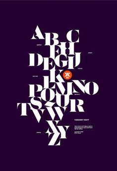font layout #print #design #classical #alphabet #typeface #minimal #heavy #fadeaway #typography