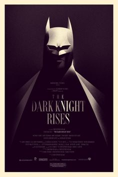 OMG Posters! #rises #knight #batman #poster #dark #olly #moss