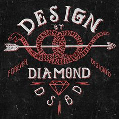 Designed by Diamond #diamond #branding #snake