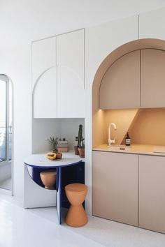 Paris Studio Apartment by Batiik Studio 3