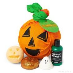 LUSH Pumpkin Gift Set - lush gift sets