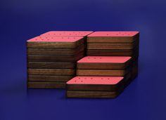 Oblique Dominoes by Paul Smith x DWS x Graphical House Photo #smith #toys #domino #paul