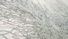 Sigh of Relief - Andrew Johnson #line #drawing