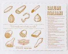 san marco - memo ny #illustration #salumi #salame #sausage