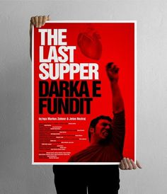 projectgraphics - typo/graphic posters #kosovo #the #prishtina #last #projectgraphics #poster #play #supper #thetre