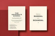 Kiku Obata & Company #Identity #Sandals