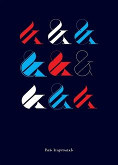 Love a good #ampersand || Paris | New Typeface by Moshik Nadav Typography on the Behance Network #graphic design #typography