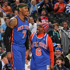 6 FOOT 7 FOOT | Le Memé #carmelo #spike #knicks