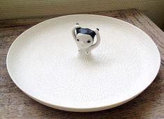 nathalie choux #plate #porcelain