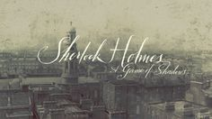Graphic-ExchanGE - a selection of graphic projects #sherlock #motion #design #film #graphics #holmes #credits