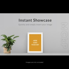 Frame on grey wall with plant mock u Free Psd. See more inspiration related to Background, Frame, Mockup, Template, Web, Website, Wall, Mock up, Plant, Grey, Templates, Website template, Mockups, Up, Web template, Realistic, Real, Web templates, Mock ups, Mock and Ups on Freepik.