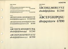 Daily Type Specimen | Good old Times (New) Roman, the classic boring... #typography