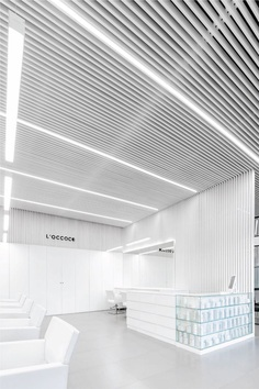 Salon L'OCCOCÓ – Minimalissimo #minimal #minimalism #architecture #design #salon #beauty