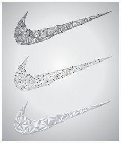 Nike - 2010 on the Behance Network #vectors #nike #triangles