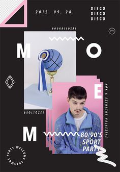 MOME 9o's POSTER