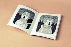 GARVO - sin título by Ooli Mos on Flickr. #illustration #ink #fanzine