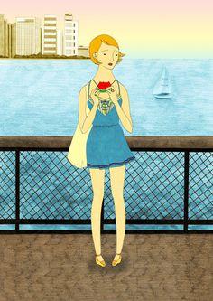 Drawings by Hana Jang #arts #illustrations #inspirations